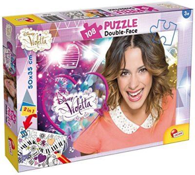 Lisciani Giochi 48601 Violetta Music Star Puzzle Doppia Faccia Plus 108 Pezzi 0