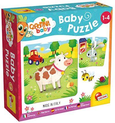 Lisciani Giochi Carotina Baby Puzzle La Fattoria 0