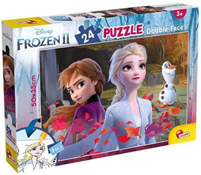 Lisciani Giochi Disney Df Plus Frozen 2 Puzzle Doppia Faccia Multicolore 24 Pezzi 81295 0