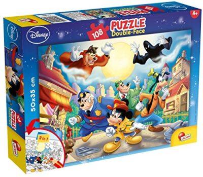 Lisciani Giochi Disney Mickey Mouse Detective Puzzle 108 Pezzi Multicolore 48021 0