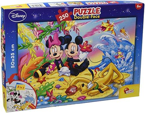 Lisciani Giochi Disney Mickey Mouse On The Beach Puzzle 250 Pezzi Multicolore 48113 0