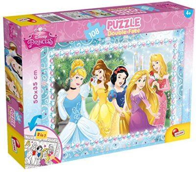 Lisciani Giochi Disney Princess Puzzle 108 Pezzi Multicolore 47963 0