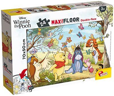 Lisciani Giochi Disney Puzzle Df Maxi Floor 24 Winnie The Pooh Puzzle Per Bambini 86672 0