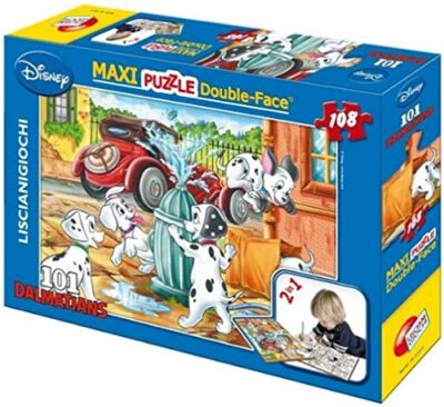 Lisciani Giochi Disney Puzzle Df Supermaxi 108 101 Dalmatians 0