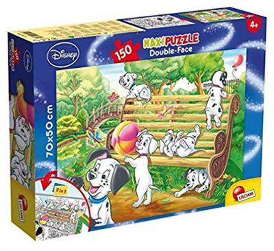 Lisciani Giochi Disney Puzzle Supermaxi 150 101 Dalmatians 0