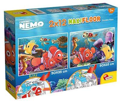 Lisciani Giochi Disney Puzzle Supermaxi 2 X 12 Nemo Puzzle Per Bambini 86580 0
