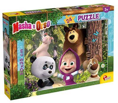 Lisciani Giochi Masha Puzzle Plus 24 Diventiamo Amicipuzzle Per Bambini Multicolore 86078 0