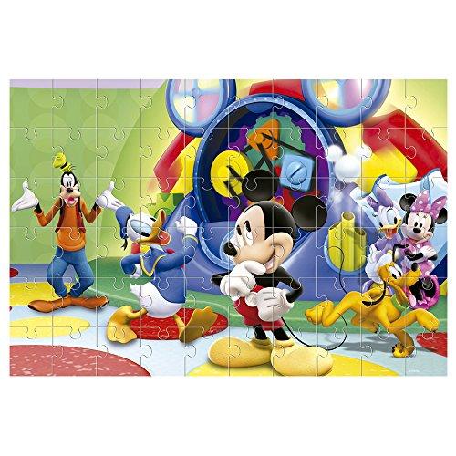 Lisciani Giochi Mickey Mouse Disney Puzzle Doppia Faccia 60 Pezzi Multicolore 47895 0 0