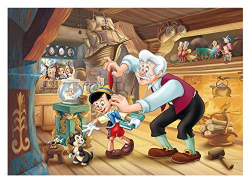 Lisciani Giochi Pinocchio Disney Puzzle Doppia Faccia Plus 108 Pezzi Multicolore 48014 0 0