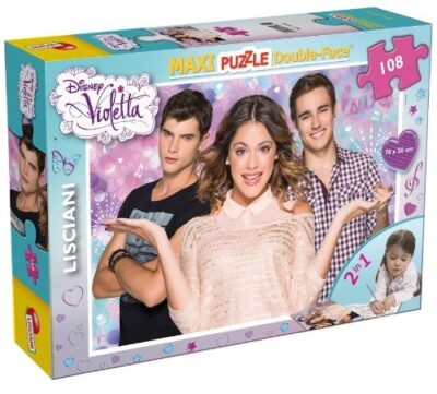 Lisciani Giochi Puzzle 108pz Violetta 43552 Multicolore 8008324043552 0