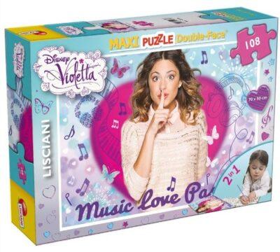 Lisciani Giochi Puzzle 108pz Violetta 43606 Multicolore 8008324043606 0