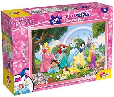 Lisciani Giochi Tit 2 Disney Puzzle Df Supermaxi 108 Princess Rainbow World Multicolore 74181 0