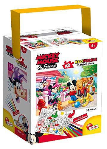 Lisciani Giochi Topolino Puzzle In A Tub Maxi 48 Pezzi Mickey Multicolore 60023 0