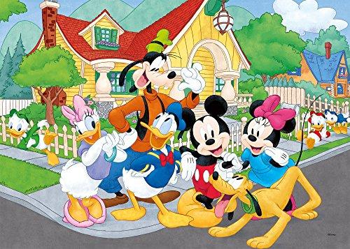Liscianigiochi Mouse Friends Disney Puzzle Supermaxi 60 Mickey Multicolore 667280 0 0
