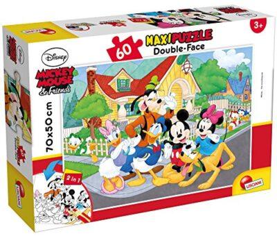 Liscianigiochi Mouse Friends Disney Puzzle Supermaxi 60 Mickey Multicolore 667280 0