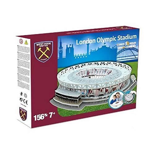 Nanostad West Ham Uniteds London Stadium Puzzle 3d Colore Multicolore 3865 0 2
