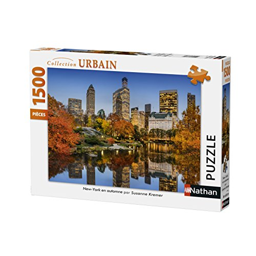 Nathan 87788 Puzzle New York In Autunno 1500 Pezzi 0