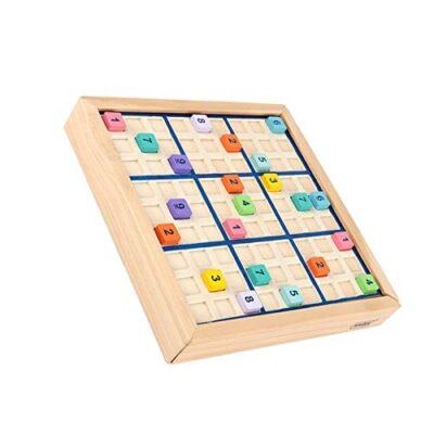 Petufun Sudoku Gioco Da Tavolo Puzzle In Legno Con Cassetto Gioco Da Tavolo In Legno Sudoku Con Cassetto Gioco Da Tavolo In Legno Intelligente Educativo Giocattolo Sudoku 0