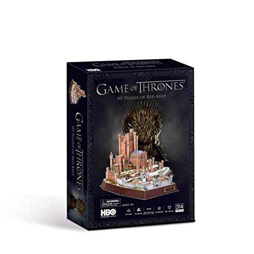 Paul Lamond Game Of Thrones Red Keep 3d Puzzle Multicolore 7465 0