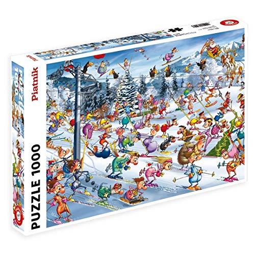 Piatnik 5351 Ruyer Sci Di Natale Puzzle 1000 Pezzi 0