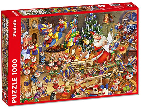 Piatnik Christmas Chaos Jigsaw Puzzle 1000 Pezzi 0