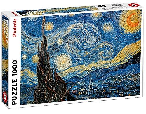 Piatnik Van Gogh Notte Stellata Puzzle 1000 Pezzi 0