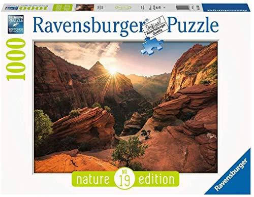 Puzzle Compatibile Con Puzzle Ravensburger 16754 Zion Canyon Usa 1000 Pezzi Nature Edition N 19 0