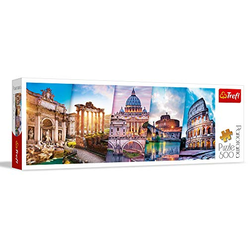 Puzzle 500 Panorama Traveling To Italy 0