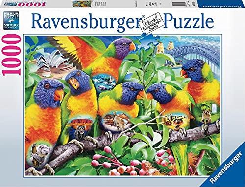 Puzzle Compatibile Con Puzzle Ravensburger 16815 Land Der Papageen Land Of The Lorikeets 1000 Pezzi 0