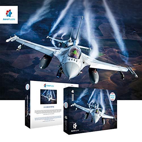 Puzzle Da 1000 Pezzi Puzzle A Forma Di Aereo 1000 Pezzi Originali Aereo F 16 Baltic Air Policing Scatola Da 1000 Pezzi Per Adulti E Bambini 0 0