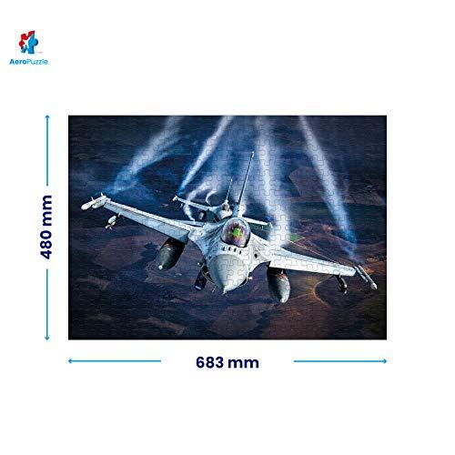 Puzzle Da 1000 Pezzi Puzzle A Forma Di Aereo 1000 Pezzi Originali Aereo F 16 Baltic Air Policing Scatola Da 1000 Pezzi Per Adulti E Bambini 0 2
