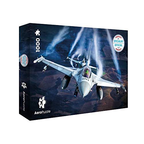 Puzzle Da 1000 Pezzi Puzzle A Forma Di Aereo 1000 Pezzi Originali Aereo F 16 Baltic Air Policing Scatola Da 1000 Pezzi Per Adulti E Bambini 0