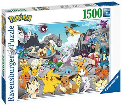 Ravensburger Puzzle At 16784 Pokemon Classics 1500 Pezzi Multicolore 0 0 0