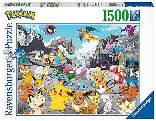 Ravensburger Puzzle At 16784 Pokemon Classics 1500 Pezzi Multicolore 0 0