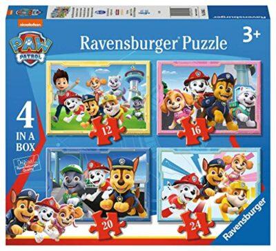 Ravensburger 030651 Paw Patrol 4 Puzzle In A Box Per Bambini Eta Raccomandata 3 0