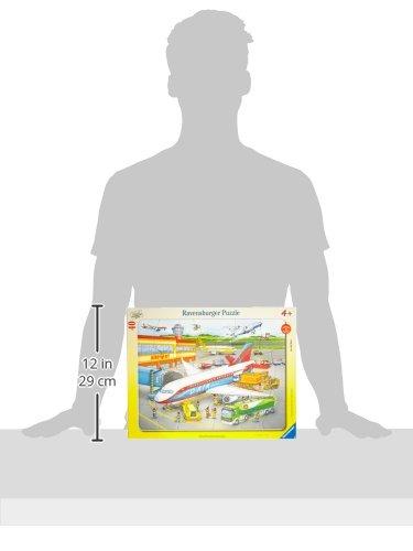 Ravensburger 06700 Piccolo Aereoporto Puzzle Incorniciato Da 40 Pezzi 0 0