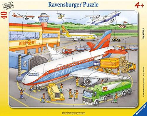 Ravensburger 06700 Piccolo Aereoporto Puzzle Incorniciato Da 40 Pezzi 0