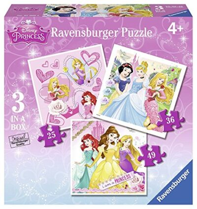 Ravensburger 07008 Disney Princess 3 Puzzle Progressivi 253649 Pezzi 0