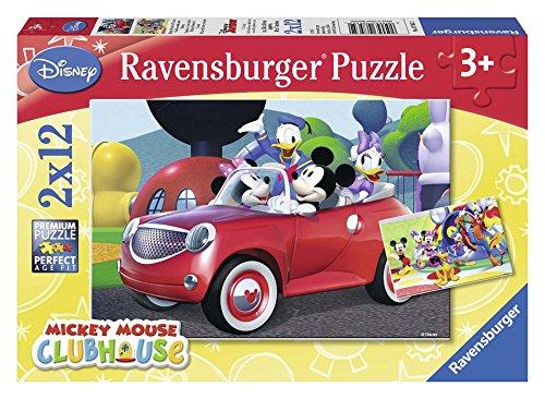 Ravensburger 07565 Topolino And Co Puzzle 2x12 Pezzi 0