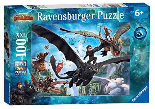 Ravensburger 10955 Dragons A Puzzle 100 Pezzi 0