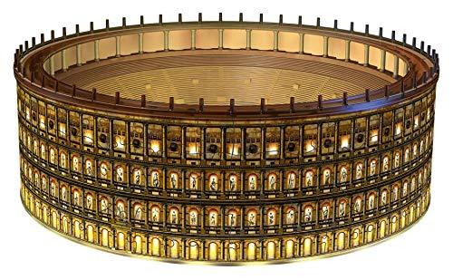 Ravensburger 11148 Colosseo Night Edition 3d Puzzle 216 Pezzi Multicolore Eta Raccomandata 10 Dimensioni Finali 32 X 26 X 10 Cm 0 0