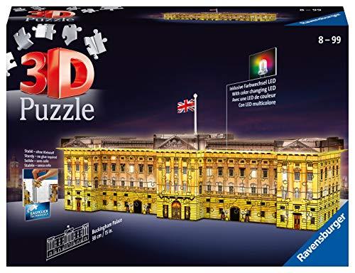 Ravensburger 12529 Buckingham Palace Night Edition Puzzle 3d 0
