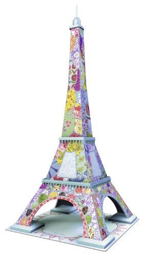 Ravensburger 12567 8 Tour Eiffel Tula Moon Special Edition Puzzle 3d Building 216 Pezzi 0 0