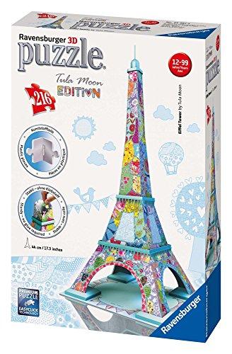 Ravensburger 12567 8 Tour Eiffel Tula Moon Special Edition Puzzle 3d Building 216 Pezzi 0