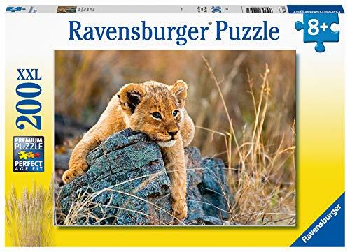 Ravensburger 129461 Piccolo Leone Puzzle 200 Pezzi Xxl Per Bambini Eta Raccomandata 8 0
