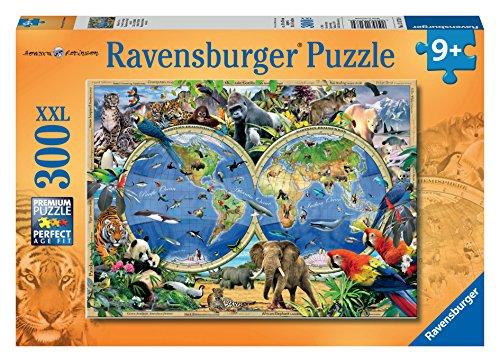 Ravensburger 13173 Animali Del Mondo Puzzle 300 Pezzi Xxl 0