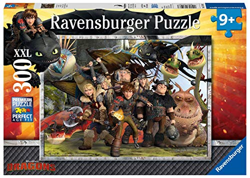 Ravensburger 13198 3 Dr Dragons Puzzle 300 Pezzi Cartone 0