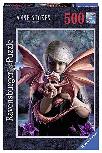 Ravensburger 14643 Puzzle Ragazza Col Drago 500 Pezzi 0