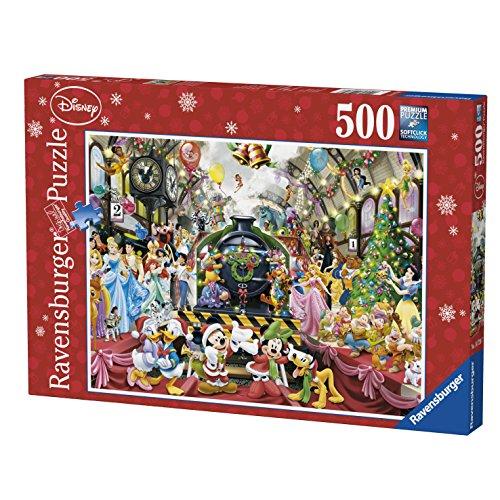 Ravensburger 14739 Puzzle Il Treno Di Natale Disney 500 Pezzi 0