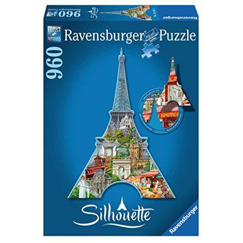 Ravensburger 16152 Tour Eiffel Parigi Puzzle Silhouette 0